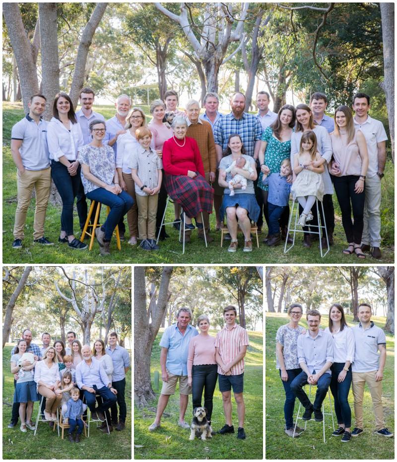 generation family portraits