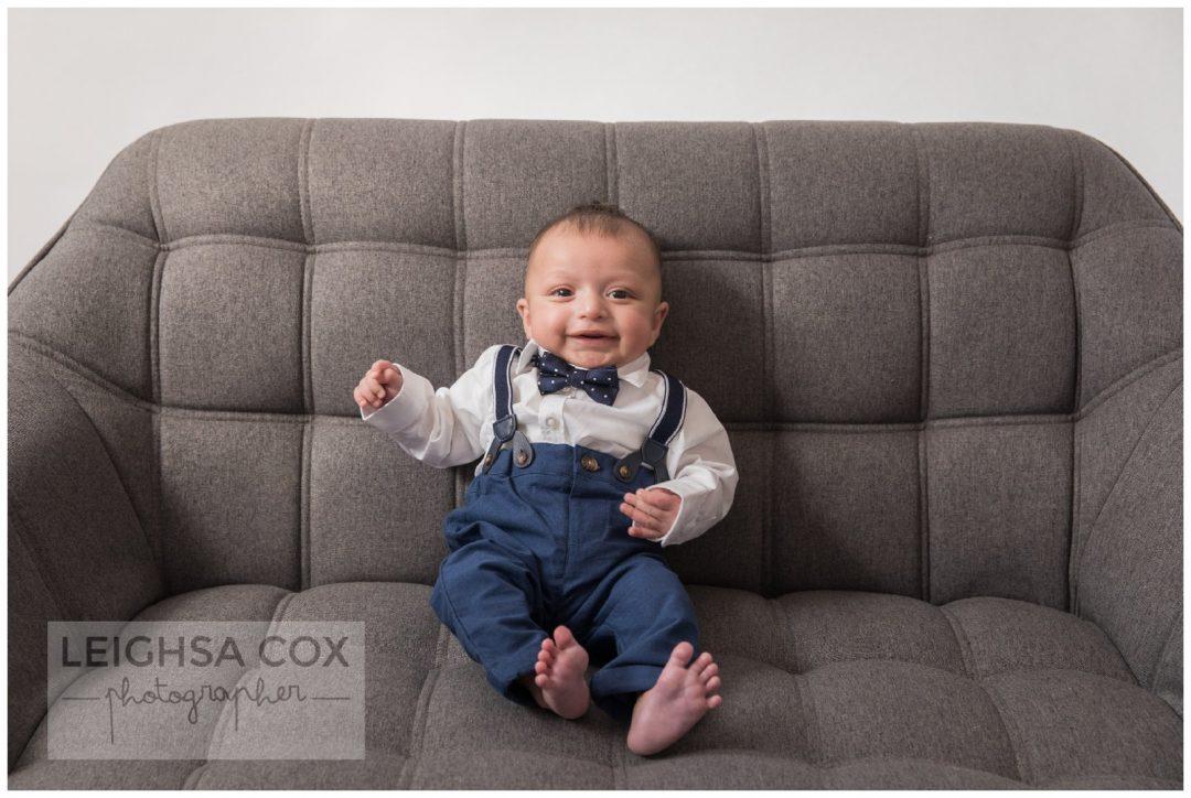 Baby boy bowtie