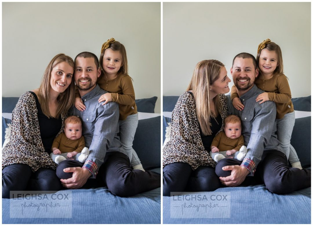 New Baby Sister - Maitland Photographer