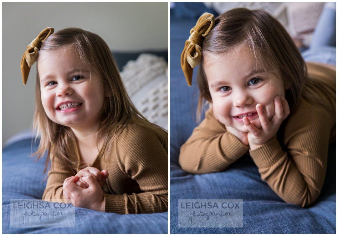 three years old portraits
