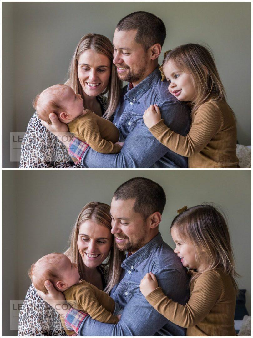 family cuddles Maitland Photographer