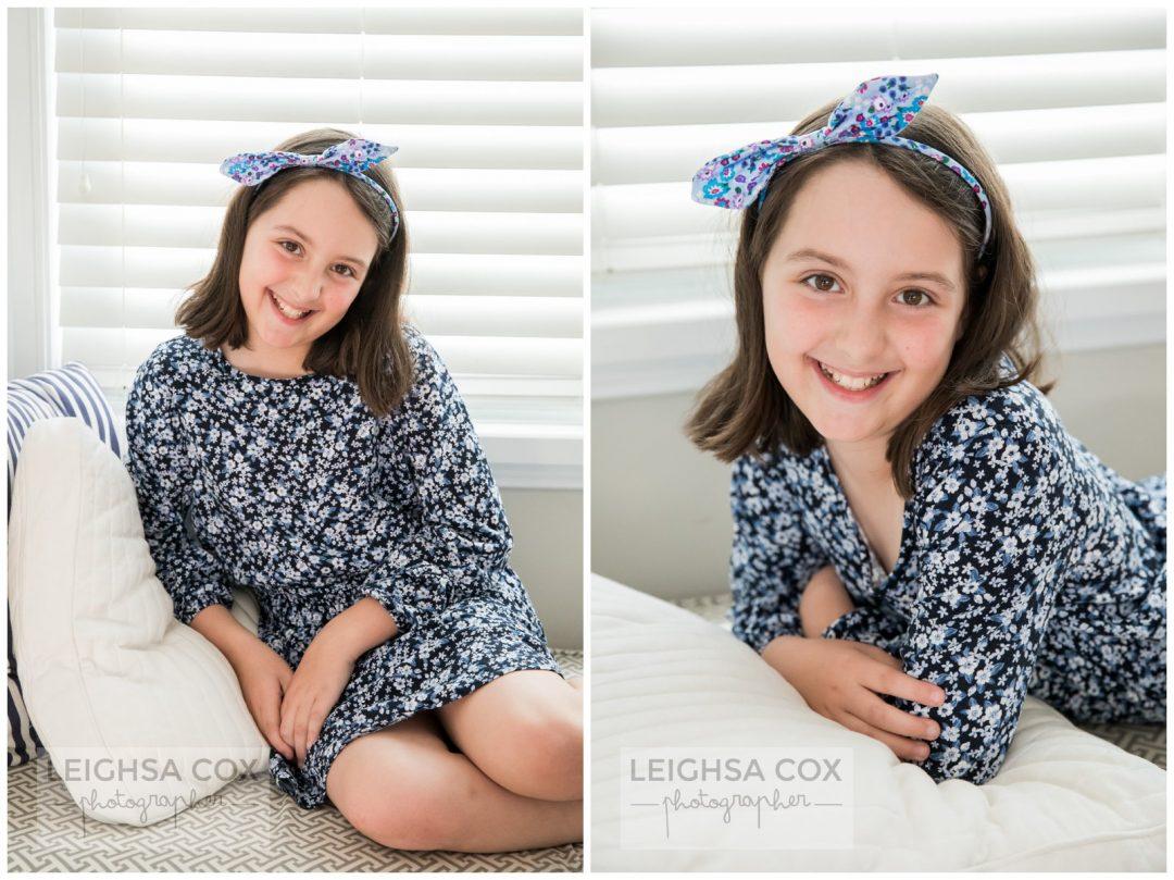 tween girl hair bow