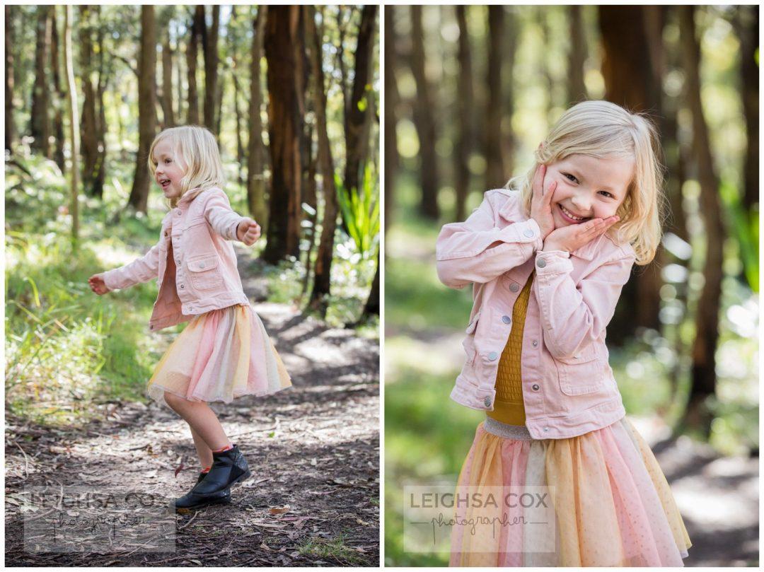 girl in pink mt sugarloaf