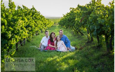 Family in the vines