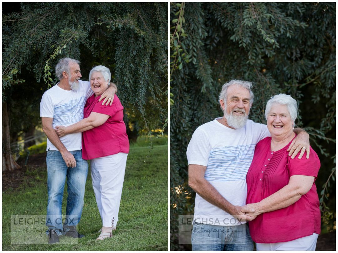 grandparents smile