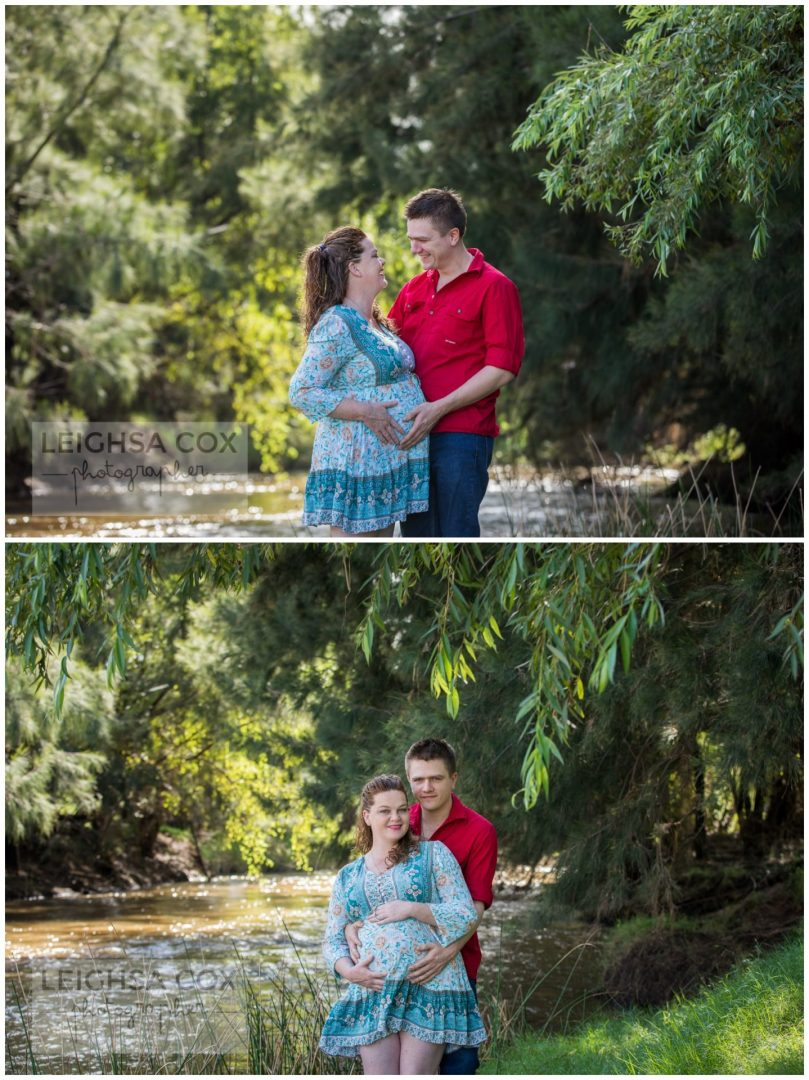 Maternity portraits Hunter Valley