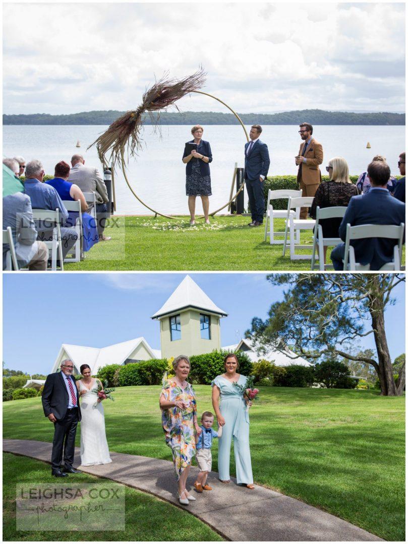 Raffertys Resort wedding