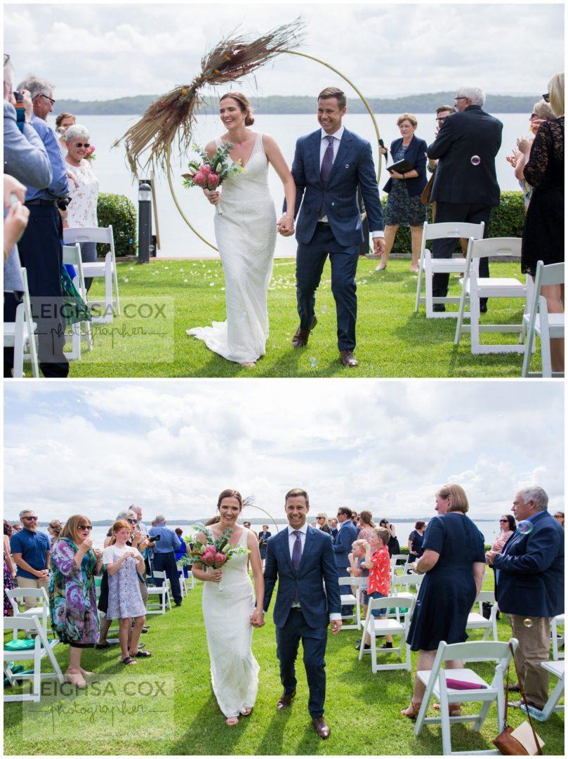 just married lake macquarie