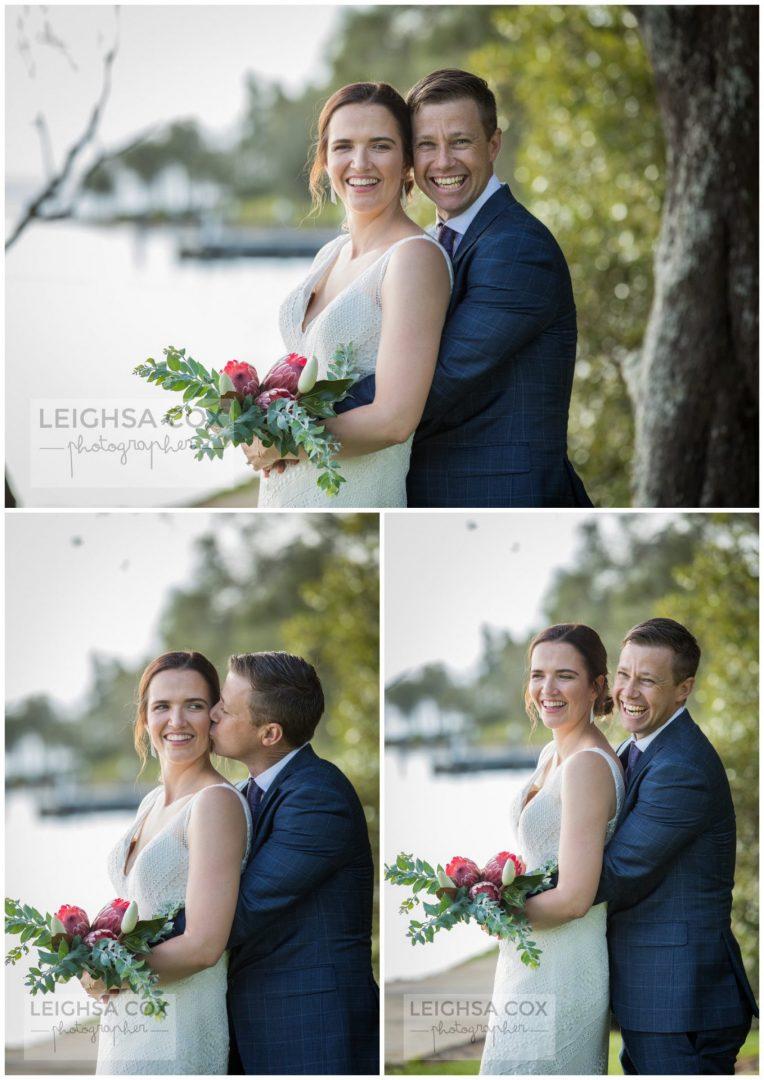 bride and groom Raffertys